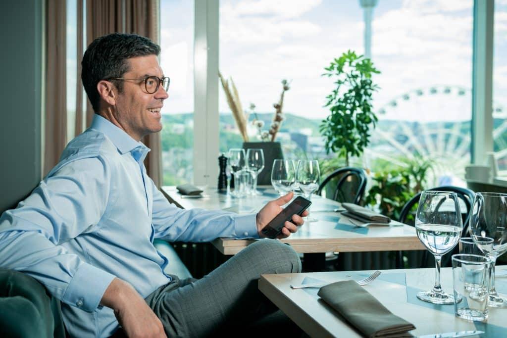Johan Forsberg, Revenue Director