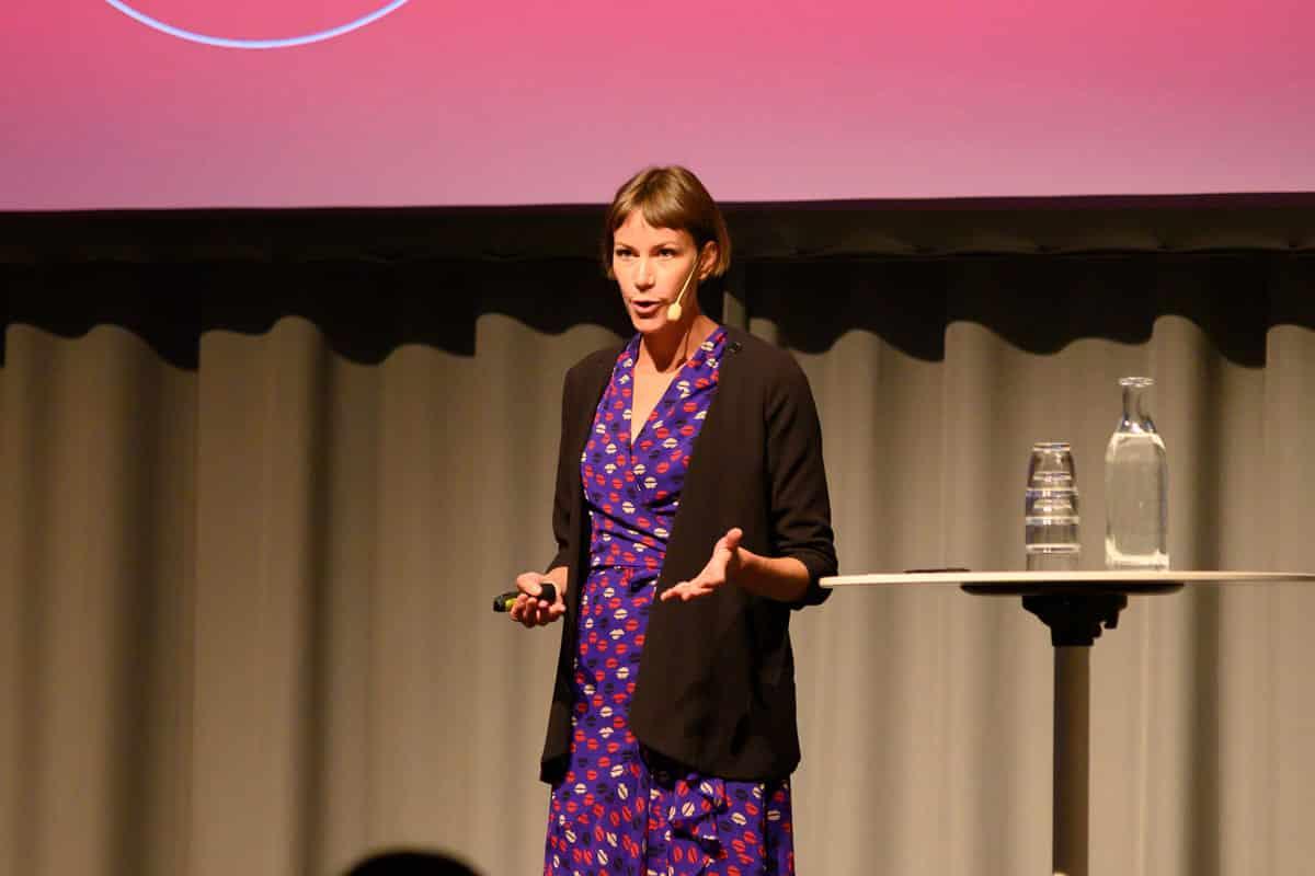 Head of product at Atomize, Ellen Hartelius