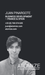 Business Manager Spain and France, Atomize