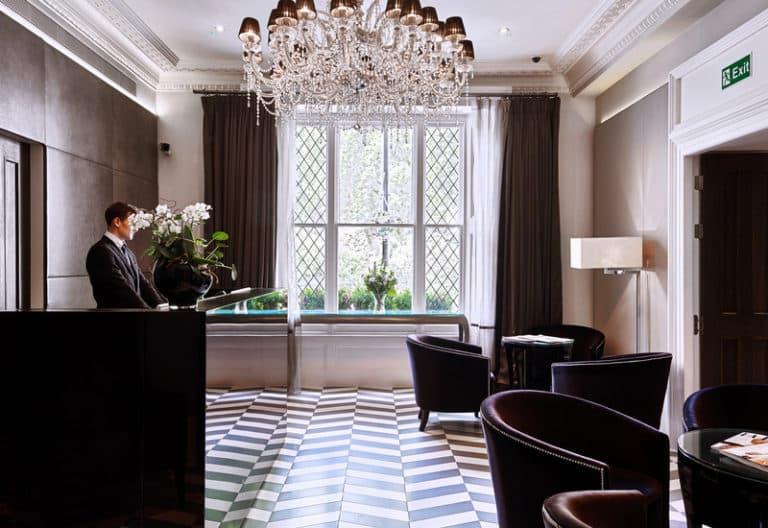 Lobby Eccleston Square Hotel in London