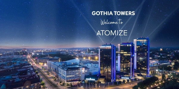 Gothia Towers, Gothenburg in Sweden