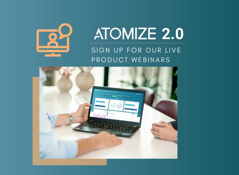 Atomize Live Webinars
